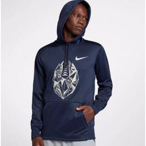Mens Football Pullover Hoodie Nike Dri-FIT Therma